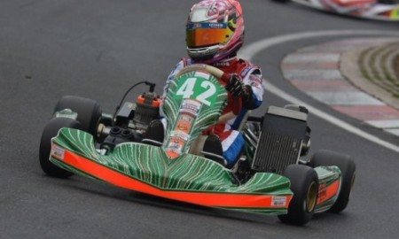 Bryony King racing driver - go karts