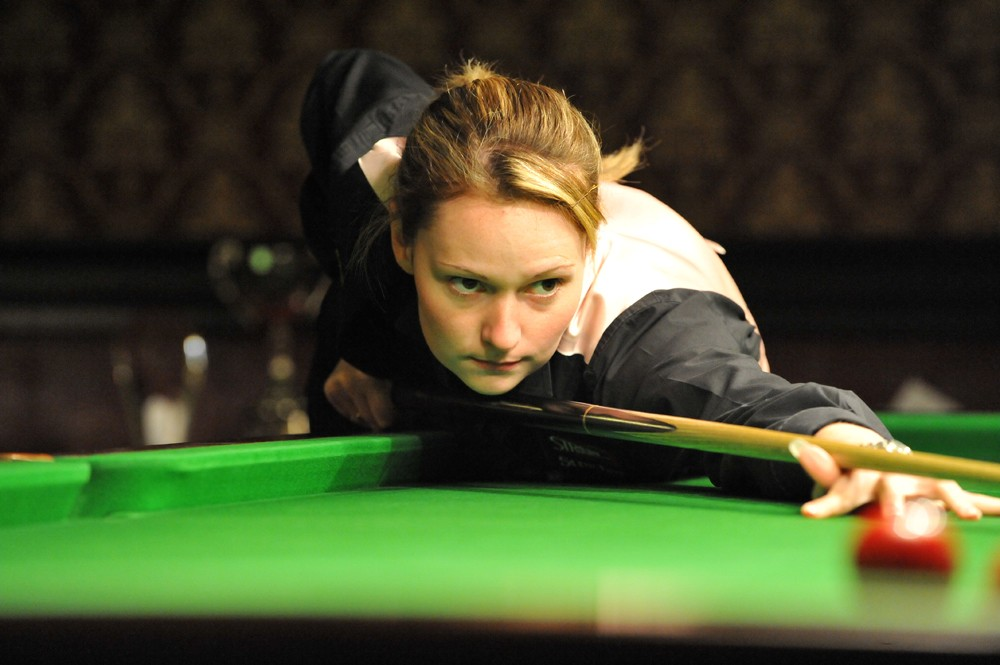 Reanne Evans Snooker World Ladies Champion