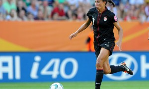 Shannon Boxx during the FIFA Women's World Cup
