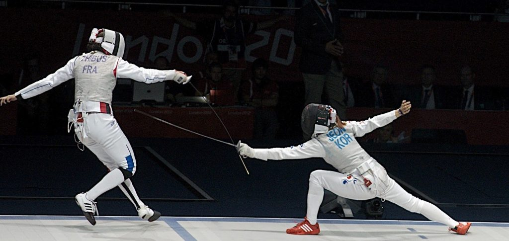 Fencing for olympic places at havana grand prix wisp