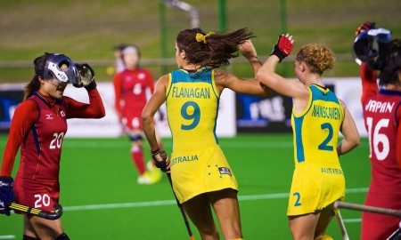 Hockeyroos v Japan Women's Hockey