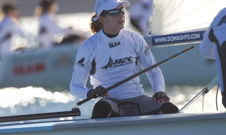 Jo Aleh, NZ Olympic Sailor