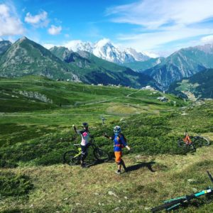 Traharn Chidley: Enduro World Series, La Thuile