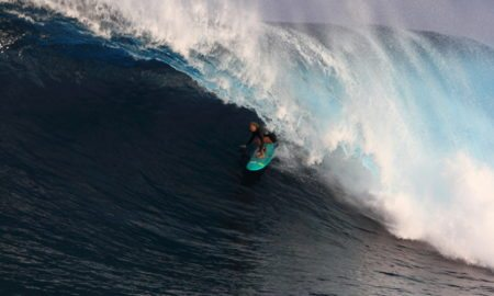 Paige Alms, surfing