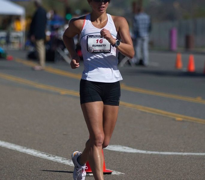 Katie Burnett, race-walking, Walk Don't Run