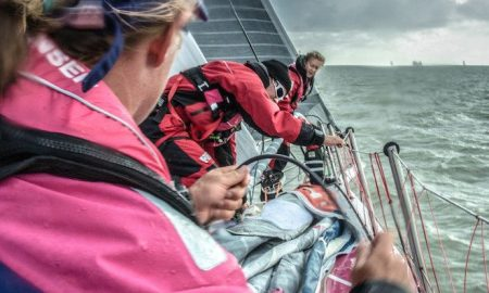August 11, 2014. Round Britain Island Race Day 1 - OBR content Team SCA