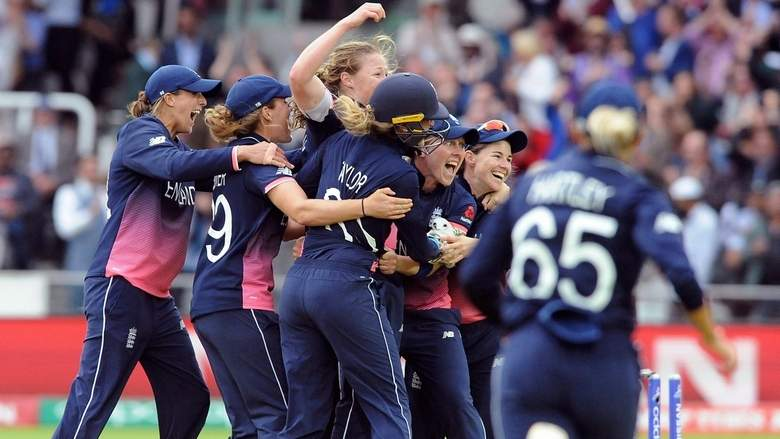 World Cup Champions England Cricket Team