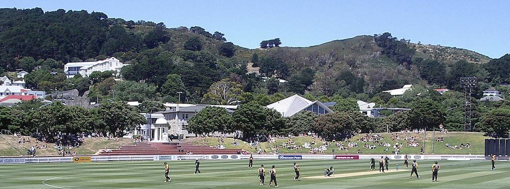 Basin Reserve Cricket Ground, Wellington, NZ