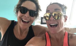 Siri Lindley & Rebekah Keat, triathlon, triathletes