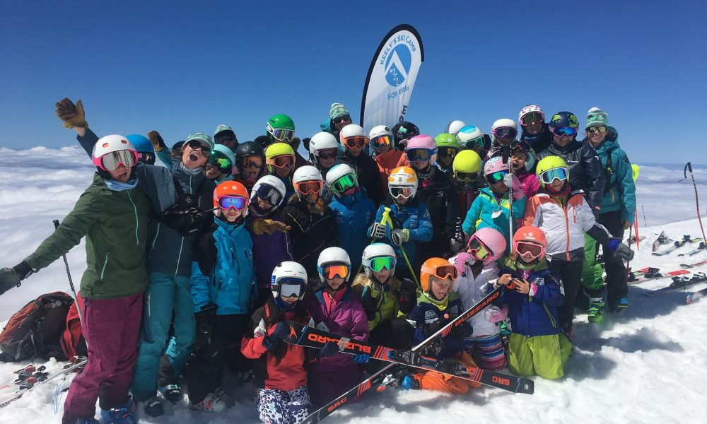 Keely's Camp, skiing, girls, summer camps