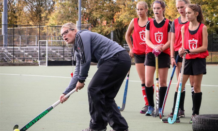 Steph Andrews, Field Hockey Coach