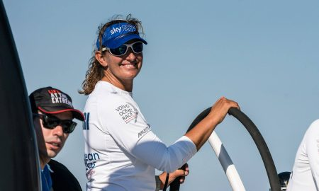 Dee Caffari, sailing, Volvo Ocean Race, Turn the Tide on Plastic, Beau Outteridge