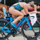 Triathletes on the trainer