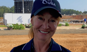 Misdee Wrigley-Miller. carriage-driving, Team USA, World Equestrian Games