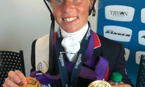 Ros Canter, Team GB, eventing world champion World Equestrian Games