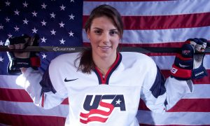 Hilary Knight, Team USA, Ice Hockey, Forward, Olympic Gold Medalist