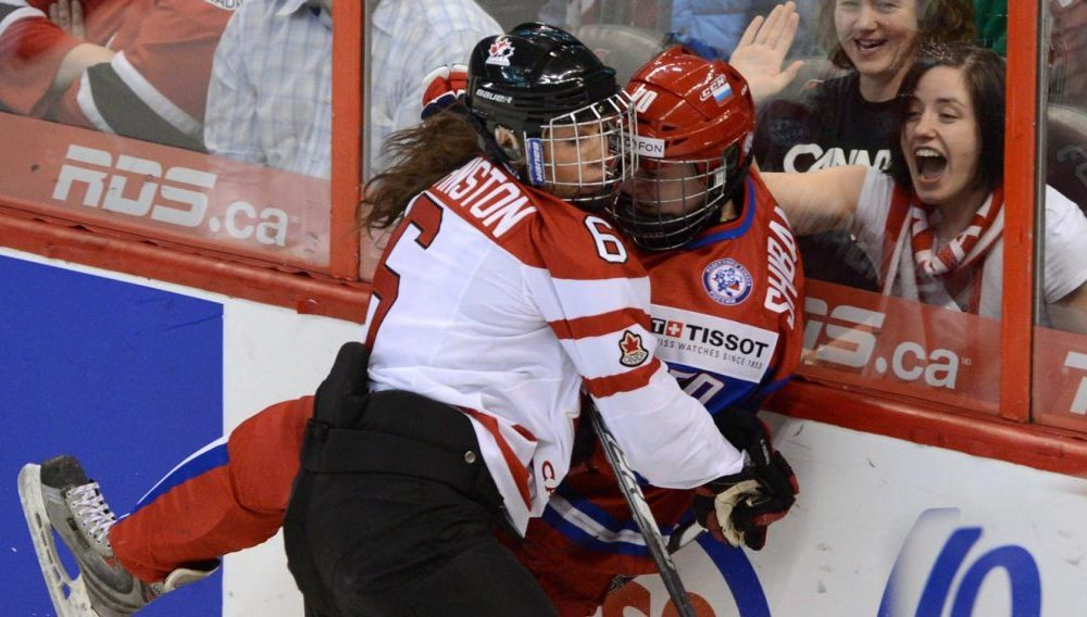 Rebecca Johnston, Calgary Inferno, Team Canada, Ice Hockey