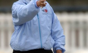 Cricket Umpire Kathie Cross