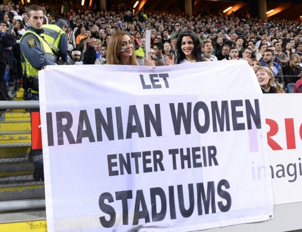 Let Iranian Women in Stadiums