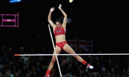 Jennifer Suhr (USA) 2016 World Indoor Pole Vaulting Champion
