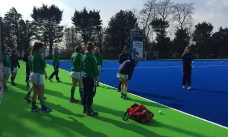 Ireland Hockey Team at Bisham Abbey