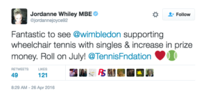 Jordanne Whiley_tweet