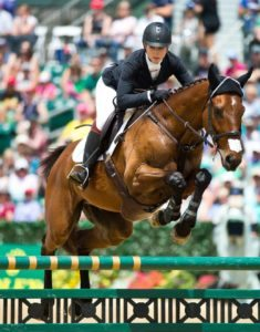 The show jumping phase at the 2016 Rolex Kentucky CCI4* event