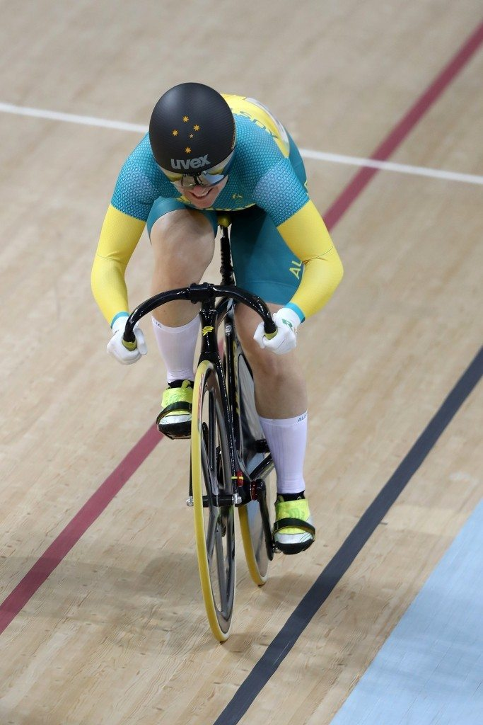 Anna Meares (AUS) Getty
