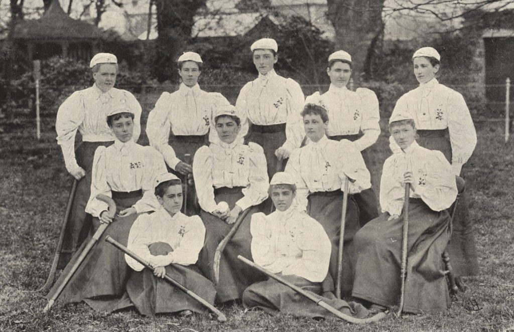 England Hockey Team in 1896