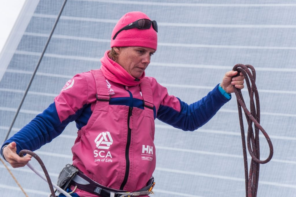 Liz Wardley, Volvo Ocean Race