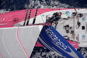 Liz Wardley, Volvo Ocean Race, Team SCA