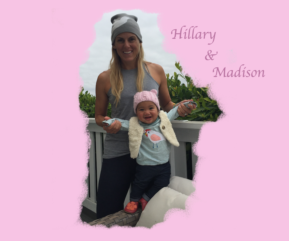 Hillary Biscay, adoption