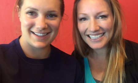 Heather Moyse & Alysia Rissling