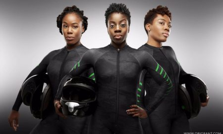 Seun Adigun's Bobsleigh team