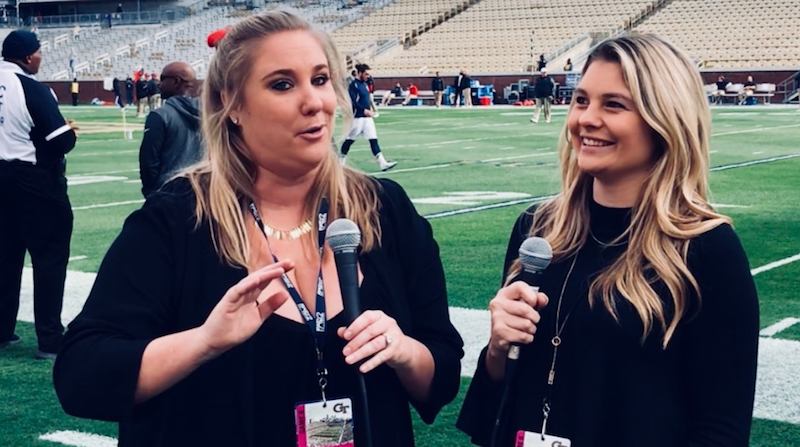 Kaleigh Krish & Emily Buskirk, sports journalism