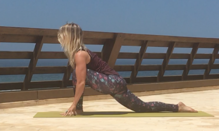 Yoga Pose - Low Lunge