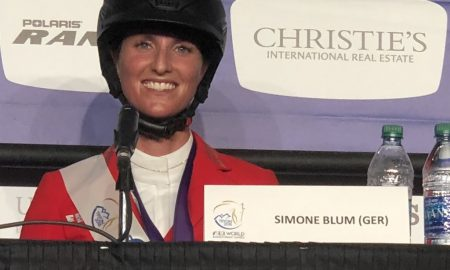 Simone Blum, Germany, World Show Jumping Champion