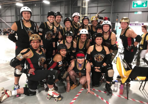 Team Indigenous, roller derby, POC