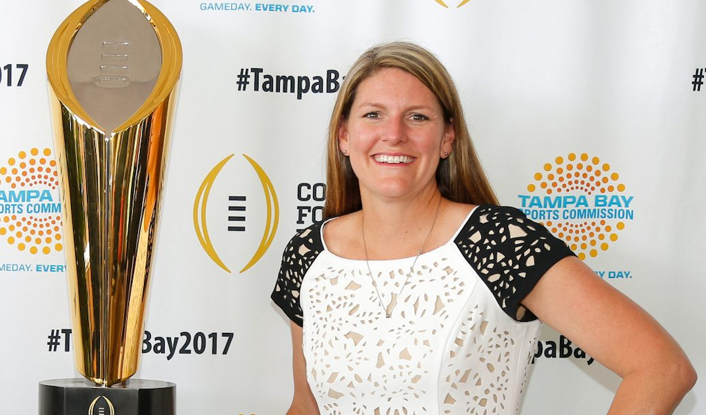 Claire Lessinger, Tampa Bay Sports Commission, community
