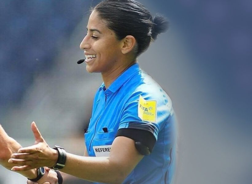 Christina Unkel, FIFA soccer referee