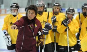 Shannon Miller_coaching, ice hockey