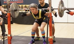 Catherine Walker, powerlifting