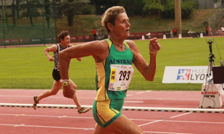 Marge Allison, Australian hurdler, track & field, athletics