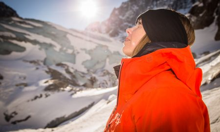 Sara Hastreiter, 7 Seas 7 Summits - World Record Attempt - Training, Chamonix, France.