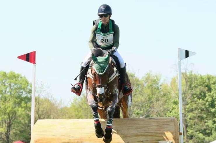 Daniela Moguel [Mary Patricia Stone] eventing, mexico, three day event, land rover kentucky three day event