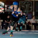 Nina Nunchucks, roller derby, the lovely biertrix