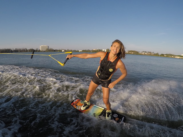 Tarah Mikicich-wakeboarding