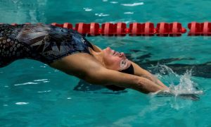 Laura Val, masters swimmer