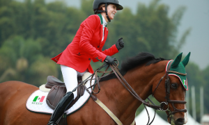 With just a single time fault over two rounds, Lorenza O'Farrill and Queens Darling led Team Mexico to victory in the Longines FEI Jumping Nations Cup™ of Mexico 2019 in Coapexpan (MEX).