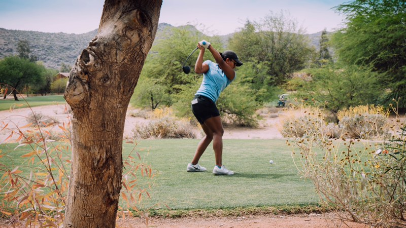 Maya Reddy-golf